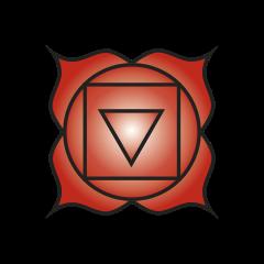 First chakra symbol