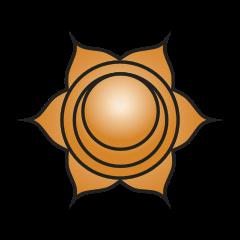 Second chakra symbol